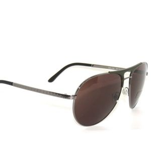 Grey Polarized Lens Versace VE 2164 1002//81 Aviator Sunglasses Gold